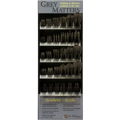 Grey Matters Display, Synthetic for Acrylic Assortment