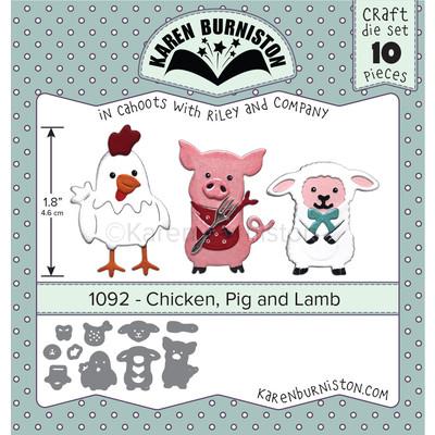 Die, Chicken, Pig and Lamb