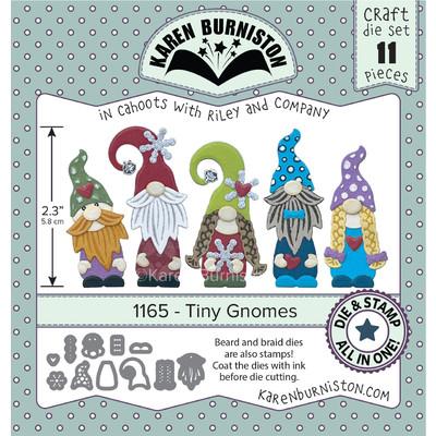 Stamping Die Set, Tiny Gnomes