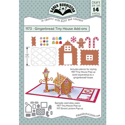 Die, Gingerbread Tiny House Add-ons