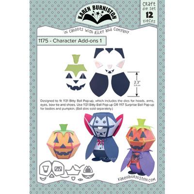 Die, Character Add-Ons 1 - Halloween