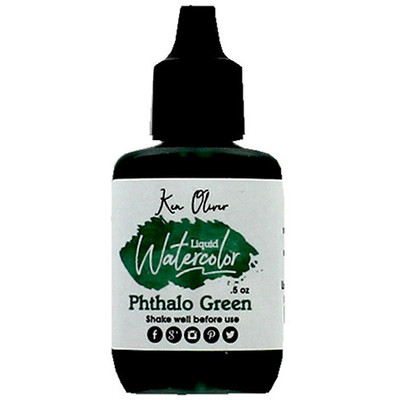Liquid Water Color, Phthalo Green