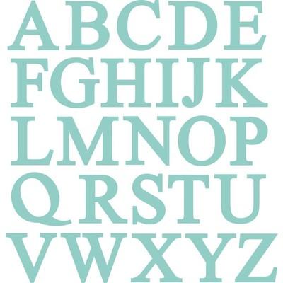 Die, Uppercase Alphabet