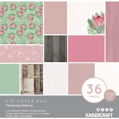 "6.5"" Paper Pad, Flowering Natives"