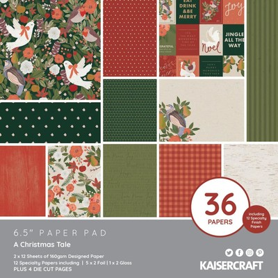 """6.5"""" Paper Pad, A Christmas Tale"""