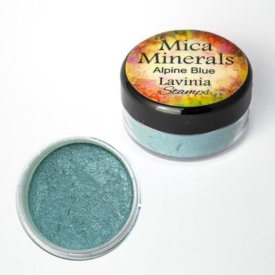 Mica Minerals, Alpine Blue