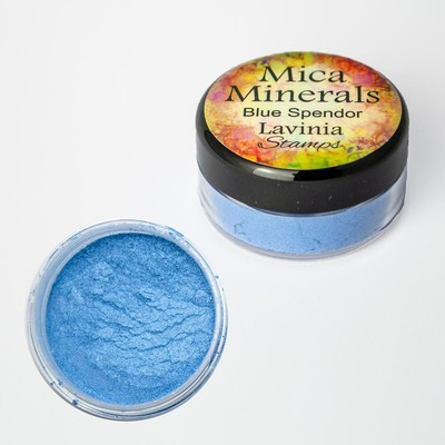 Mica Minerals, Blue Splendour
