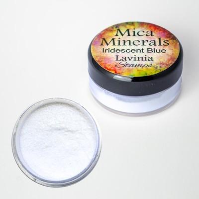Mica Minerals, Iridescent Blue