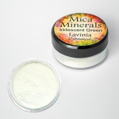 Mica Minerals, Iridescent Green