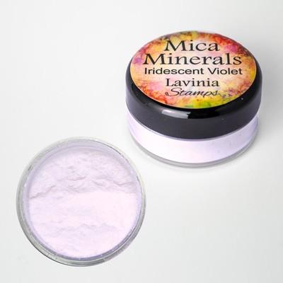 Mica Minerals, Iridescent Violet