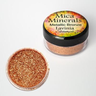 Mica Minerals, Metallic Bronze
