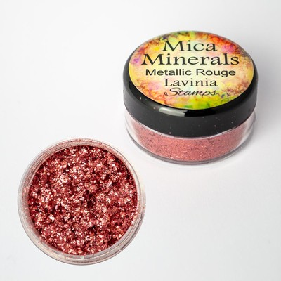 Mica Minerals, Metalliic Rouge