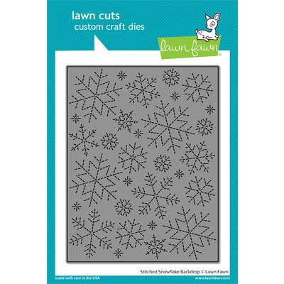 Die, Stitched Snowflake Backdrop