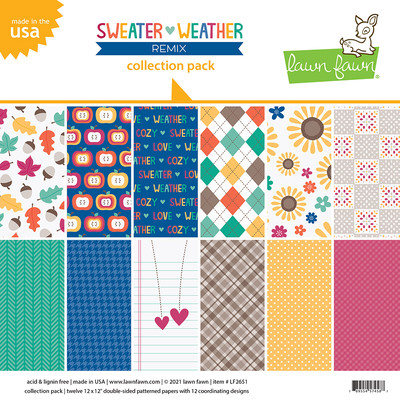 12X12 Collection Pack, Sweater Weather Remix