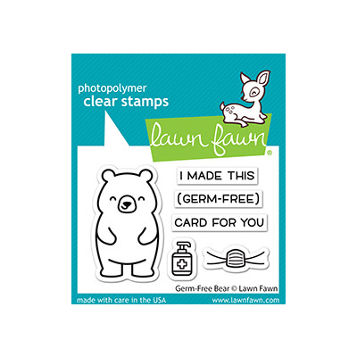 Clear Stamp, Germ-Free Bear