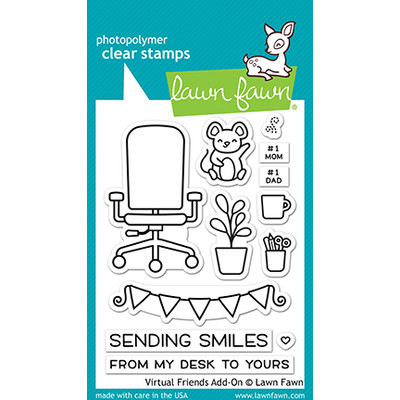 Clear Stamp, Virtual Friends Add-On