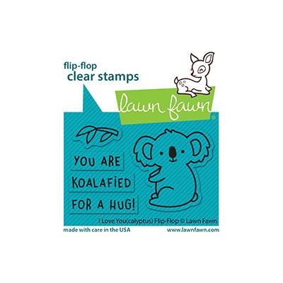 Clear Stamp, I Love You(calyptus) Flip-Flop