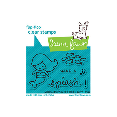 Clear Stamp, Mermaid for You Flip-Flop