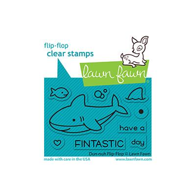 Clear Stamp, Duh-nuh Flip-Flop