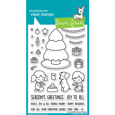 Clear Stamp, Joy To All