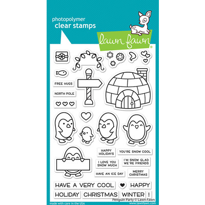 Clear Stamp, Penguin Party