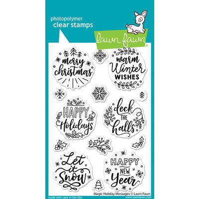 Clear Stamp, Magic Holiday Messages