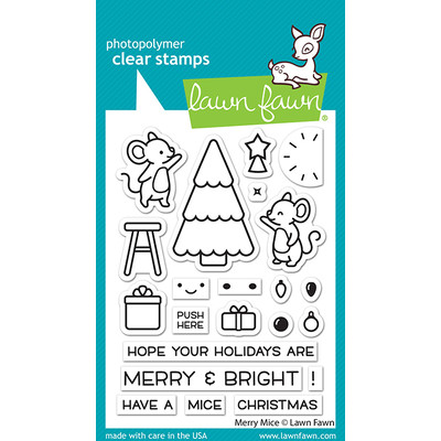 Clear Stamp, Merry Mice