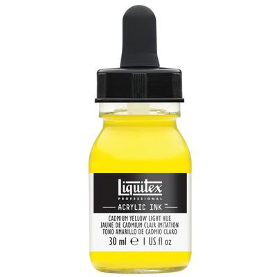 Acrylic Ink 30ml Jar, Cadmium Yellow Light Hue