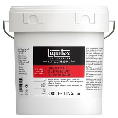 Professional Gloss Heavy Gel Medium, 3.78L (Gallon/128oz)