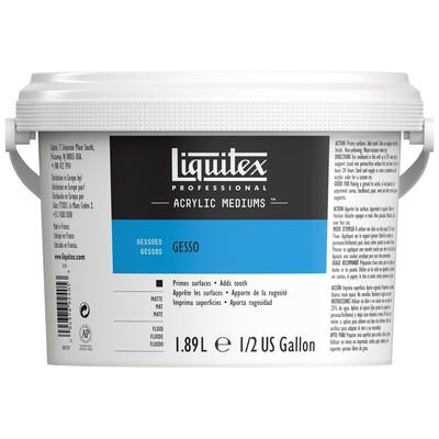 Professional White Gesso, 1.89L (1/2 Gallon/64oz)