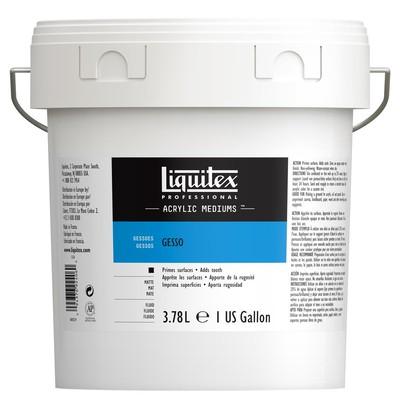 Professional White Gesso, 3.78L (Gallon/128oz)