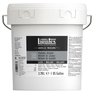 Professional Gloss Pouring Medium, 3.78L (Gallon/128oz)