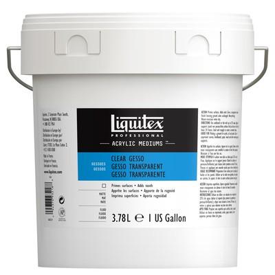 Professional Clear Gesso, 3.78L (Gallon/128oz)