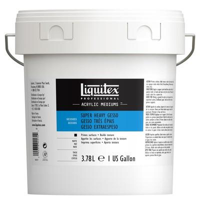 Professional Super Heavy Gesso, 3.78L (Gallon/128oz)