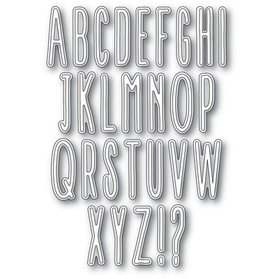 Die, Twiggy Alphabet