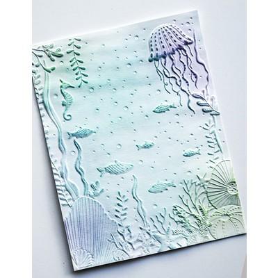 3D Embossing Folder, Underwater