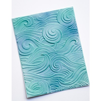 3D Embossing Folder, Waves