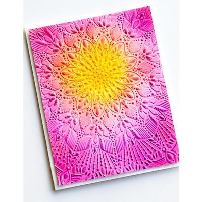 3D Embossing Folder, Stunning Mandala