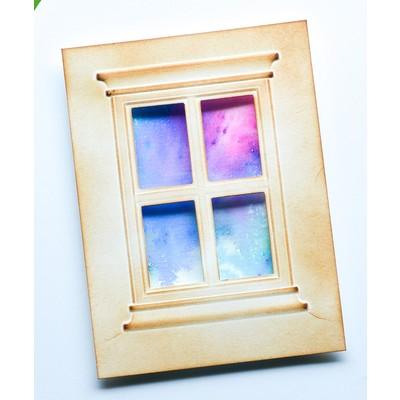 Emboss & Cut, Classic Window