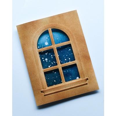 Emboss & Cut, Domed Window