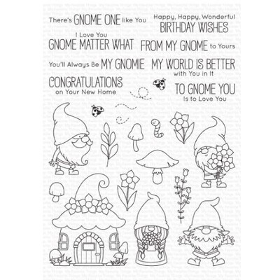 Clear Stamp, Hanging with My Gnomies