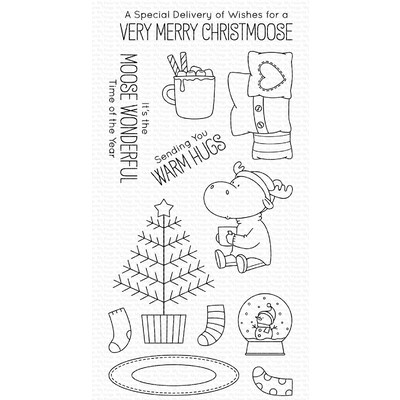 Clear Stamp, Merry Christmoose