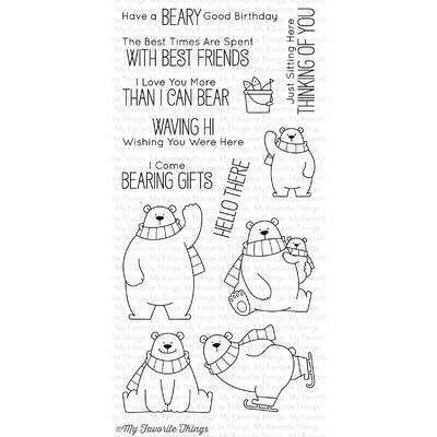 Clear Stamp, Polar Bear Pals