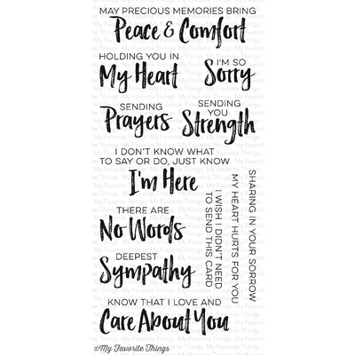 Clear Stamp, Deepest Sympathy