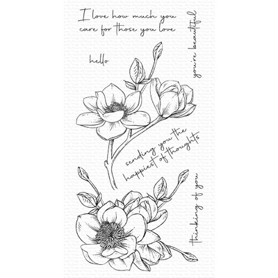 Clear Stamp, Magnolia Blossoms