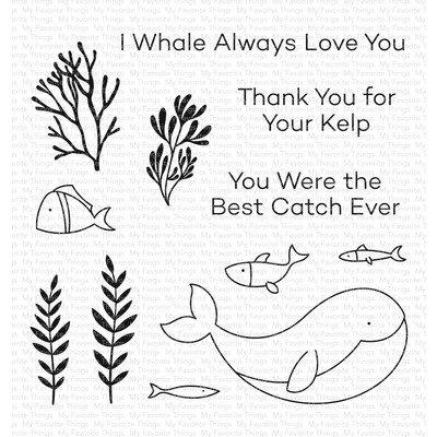 Clear Stamp, Best Catch Ever