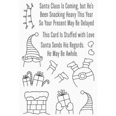 Clear Stamp, Stuffed Santa