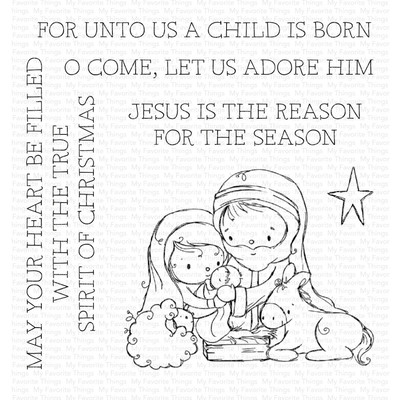 Clear Stamp, Away in a Manger