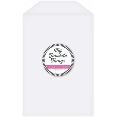 Clear Storage Pockets, Extra Large (25 Pack)