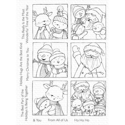 Clear Stamp, Selfies with Santa